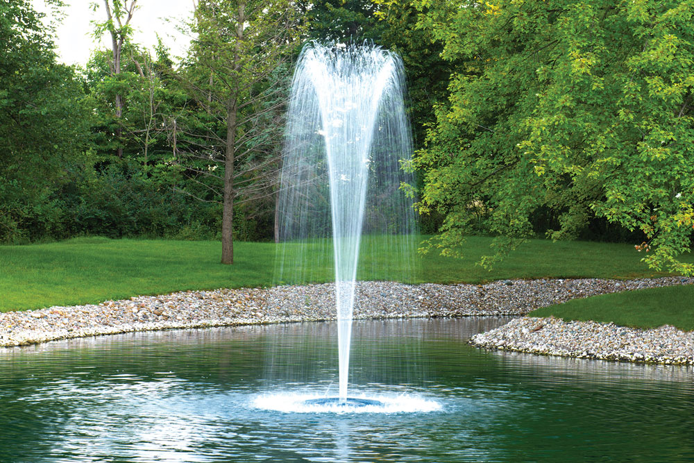 Large Pond & Lake Fountains - Big Rock - Gadsden, Alabama